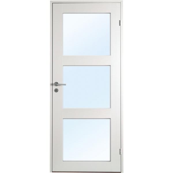 Öland - 1-spegel - 3 glas - Massiv - Innerdörr